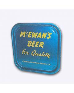William McEwan & Co Ltd (Part of Scottish Brewers Ltd) Square Tin