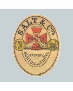 Thomas Salt & Co Ltd Paper Label