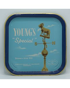 Young & Co's Brewery Ltd Square Tin