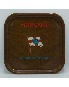 Morgan's Brewery Co Ltd Square Tin