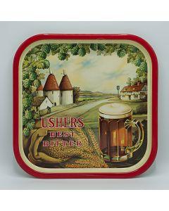 Usher's Wiltshire Brewery Ltd Square Tin