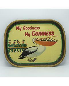 Arthur Guinness, Son & Co Ltd Rectangular Black Backed Steel