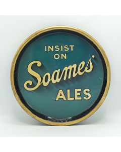 F.W.Soames & Co Ltd Round Black Backed Steel