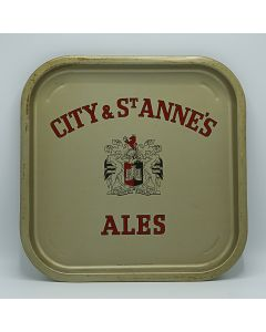 City & St. Anne's (Norman & Pring) Ltd Square Tin