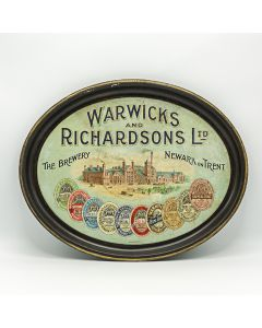 Warwicks & Richardsons Ltd Oval Black Backed Steel