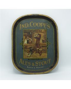 Ind Coope & Co Ltd Rectangular Black Backed Steel