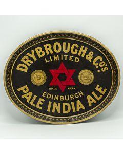 Drybrough & Co Ltd Oval Black Backed Steel