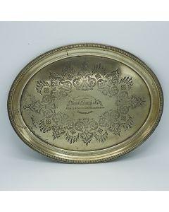 R.Fenwick & Co Oval Brass
