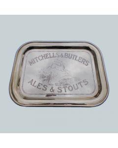 Mitchells & Butlers Ltd Rectangular Brass