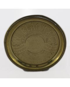 William Black & Co Round Brass