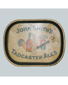 John Smith's Tadcaster Brewery Co. Ltd Rectangular Black Backed Steel