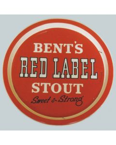 Bent's Brewery Co. Ltd Small Round Tin