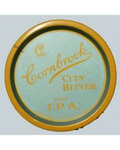 Cornbrook Brewery Co. Ltd Round Tin