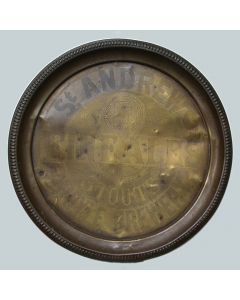D.S.Ireland Ltd Round Brass
