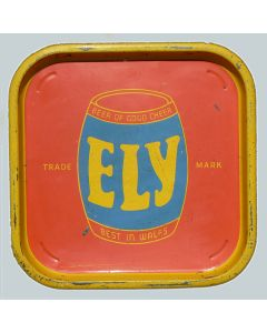 Ely Brewery Co Ltd Square Tin