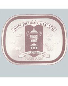 John Richdale & Co. Ltd Rectangular Black Backed Steel