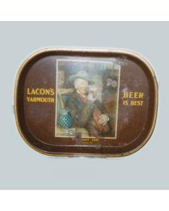 E.Lacon & Co. Ltd Rectangular Black Backed Steel