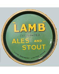 Lamb Brewery Co. Ltd Round Black Backed Steel