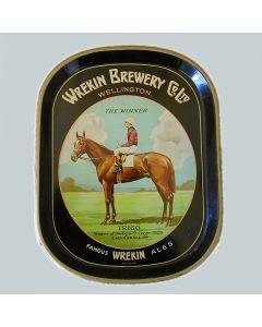 Wrekin Brewery Co Ltd Rectangular Black Backed Steel