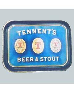 J. & R.Tennent Ltd Small Rectangular Black Backed Steel
