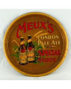 Meux's Brewery Co Ltd Round Black Backed Steel