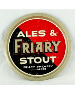 Friary, Holroyd & Healy's Breweries Ltd Round Alloy
