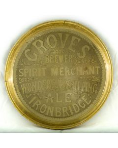 Edwin Fletcher Groves Round Brass