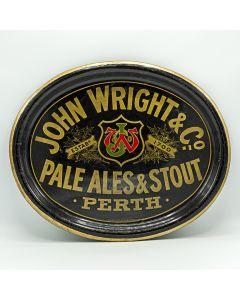 John Wright & Co Oval Black Backed Steel