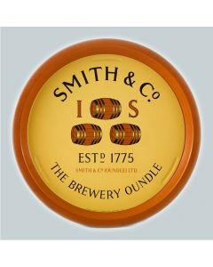 Smith & Co (Oundle) Ltd Round Black Backed Steel