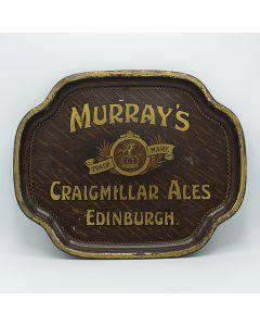 William Murray & Co Ltd Curved Rectangular Black Backed Steel