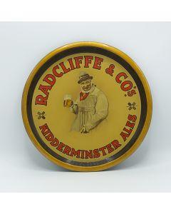 Radcliffe & Co Ltd Round Black Backed Steel