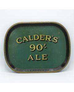 James Calder & Co. (Brewers) Ltd Rectangular Black Backed Steel