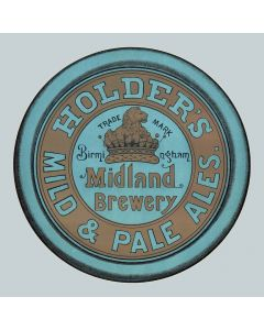 Holder's Brewery Ltd Round Enamel