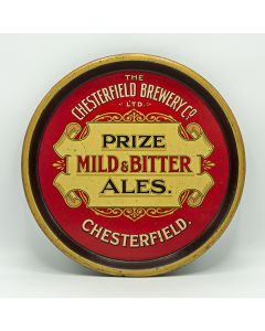 Chesterfield Brewery Co. Ltd Round Black Backed Steel