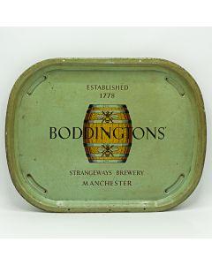 Boddington's Breweries Ltd Rectangular Alloy