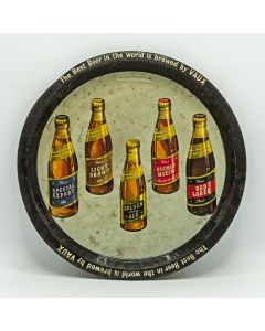 Vaux & Associated Breweries Ltd Round Tin