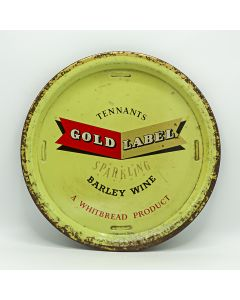 Tennant Brothers Ltd (Owned by Whitbread & Co Ltd) Round Tin