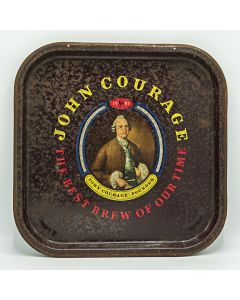 Courage, Barclay, Simonds & Co. Ltd Square Tin