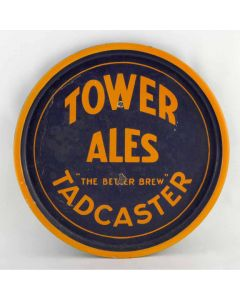 Tadcaster Tower Brewery Co Ltd Round Enamel