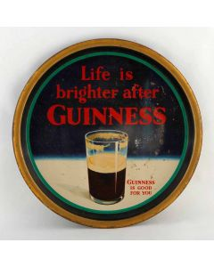 Arthur Guinness, Son & Co. Ltd Round Black Backed Steel