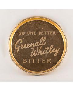 Greenall Whitley & Co. Ltd Small Round Tin