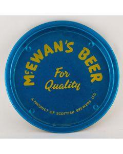 William McEwan & Co Ltd (Part of Scottish Brewers Ltd) Small Round Tin
