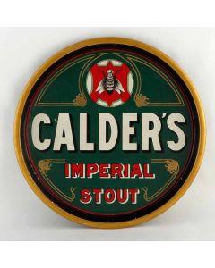 James Calder & Co. (Brewers) Ltd Round Black Backed Steel