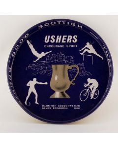 Thomas Usher & Son Ltd (Owned by Vaux & Associated Breweries Ltd) Deep Round Tin