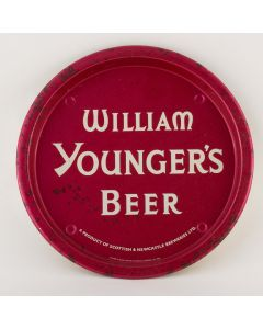 William Younger & Co Ltd (Part of Scottish & Newcastle Breweries Ltd) Small Round Tin