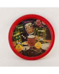 Rhymney Breweries Ltd Small Round Tin