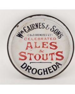 Castlebellingham & Drogheda Breweries Ltd Round Enamel