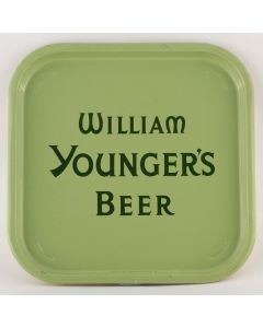 William Younger & Co Ltd (Part of Scottish Brewers Ltd) Square Tin