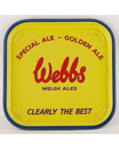 Webbs (Aberbeeg) Ltd Square Tin