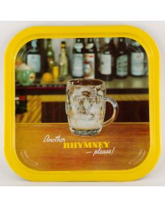 Rhymney Breweries Ltd (Owned by Whitbread & Co Ltd) Square Tin